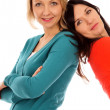 Stockfoto: Two girlfriends