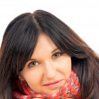 Stock Photo: Black haired woman
