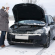 Stockfoto: Car in Winter