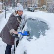 Car in Winter — Stock Photo
