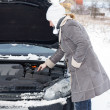Car in Winter — Stock Photo #18744709