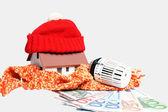 Náklady na vytápění — Stock fotografie