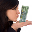 Euro banknote — Stock Photo #23143852