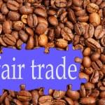 Fair trade coffee — Stock Photo #23143916