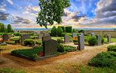 Kyrkogård — Stockfoto