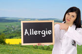 Allergy — Stock Photo