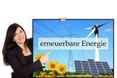 Renewable energies — Stock Photo