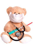 Teddy doctor — Foto Stock
