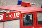 Fire fighting vehicle — Stock Photo