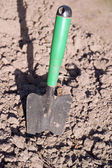 Planting shovel — Stock Photo