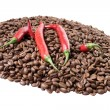 Coffee and chili — Stock Photo #31646243