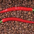 Chili and coffee — Stock Photo #31648475