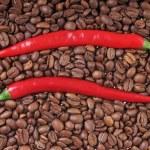 Chili and coffee — Stock Photo #31648475