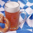 Beer mug with wheat beer — Stock Photo #32714351