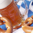Beer mug with wheat beer — Lizenzfreies Foto