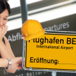 Stock Photo: Berlin Brandenburg Airport