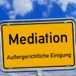 Stock Photo: Shield - Mediation