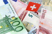 Swiss Bank Account — Stock Photo