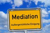 Shield - Mediation — Stock Photo