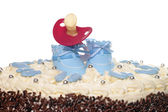 Cake for a baby — Stock Photo