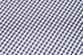 Blue checkered background — Stock Photo