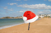 Christmas Beach — Foto de Stock
