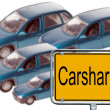 Stock Photo: Carsharing