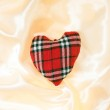 Fabric heart — Stock Photo #38497493