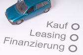 Financing a Car — Stock fotografie