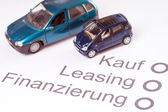 Financing a Car — Foto Stock