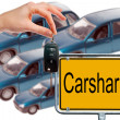 Carsharing — Stock Photo #38800133
