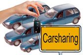 Car sharing — Foto Stock