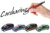 Carsharing — Стоковое фото