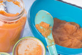 Baby food — Stock Photo