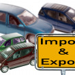 Stock Photo: Import and Export