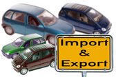 Import and Export — Stock Photo
