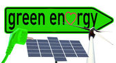 Grön energi — Stockfoto