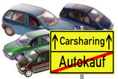 Carsharing — Stock Photo