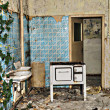 Stock Photo: Deserted housing