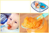 Baby food — Stock Photo