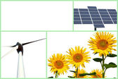 Renewable energy — Stockfoto
