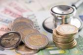 Health costs money — Stock Photo
