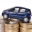 Car and Euro Money — Stock Photo #41789139