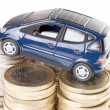 Car and Euro Money — Stock Photo #41789243