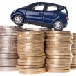 Car and Euro Money — Stock Photo #41789245
