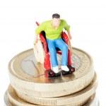 Wheelchair user — Stock Photo #42348829