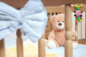 Baby bed — Stock Photo