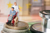 Wheelchair user — Stock Photo