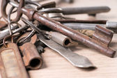 Rusty key — Stock Photo