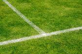 Fotbollsplan — Stockfoto